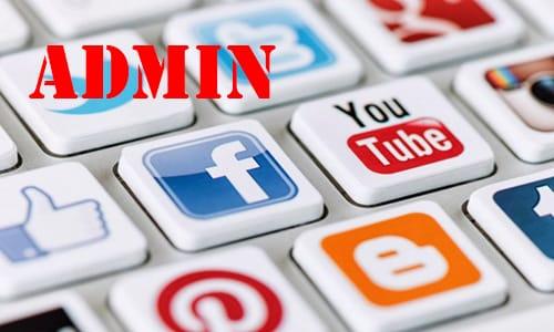 admin là gì trên mạng xã hội