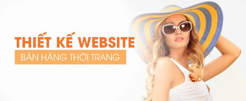 Thiết kế website bán hàng thời trangq