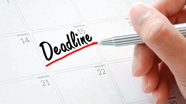 Ý nghĩa của deadline là gì