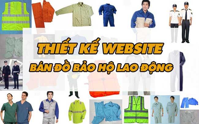 Thiết kế website bán đồ bảo hộ