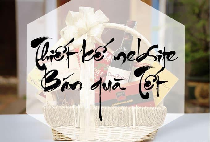Thiết kế website bán quà Tết