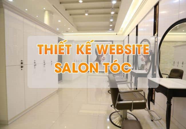 Thiết kế webstie Salon tóc