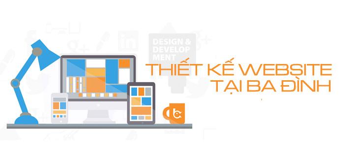 Thiết kế website tại quận Ba Đình