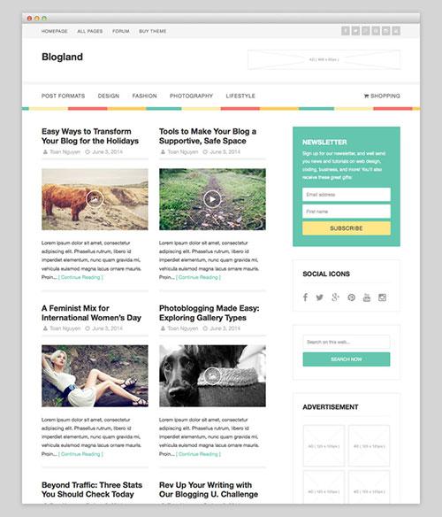 Blogland PremiumTheme