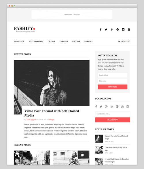 Fashify Premium Theme