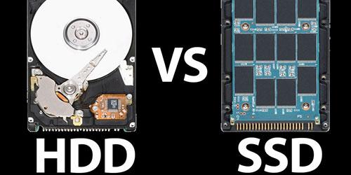 Sự khác nhau của HDD và SSD là gì