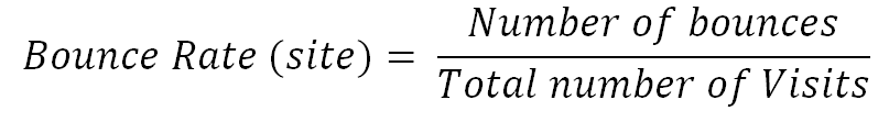 Công thức tính Bounce Rate
