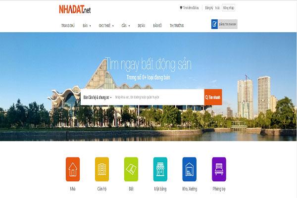 Trang web bất động sản