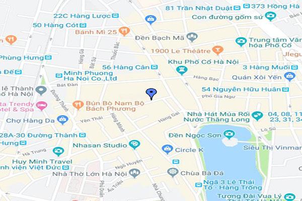 Chức năng cơ bản của Google Maps