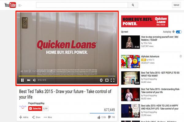 Các loại quảng cáo Youtube