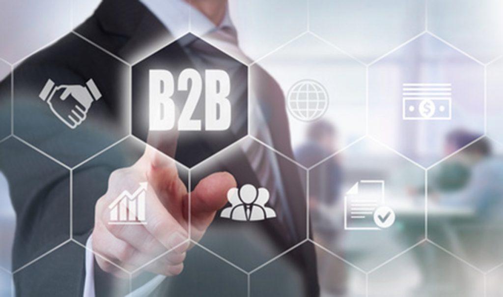 mô hình kinh doanh b2b ảnh bìa